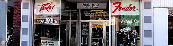 Mikes Music Find & Contact us